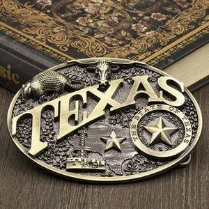 New Texas belt buckle